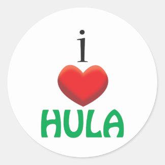 AMO HULA ETIQUETA