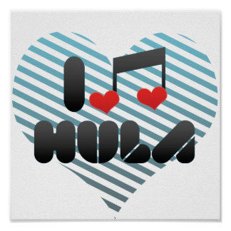 Amo Hula Posters