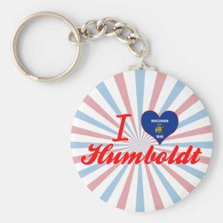 Amo Humboldt Wisconsin Llaveros Personalizados