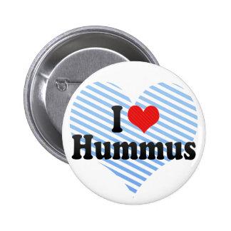 Amo Hummus Pin Redondo De 2 Pulgadas