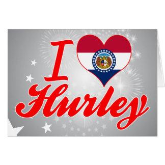 Amo Hurley, Missouri Tarjeton