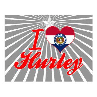 Amo Hurley, Missouri Tarjetas Postales