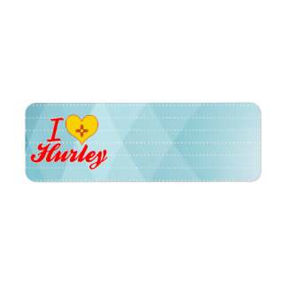 Amo Hurley, New México Etiquetas De Remite
