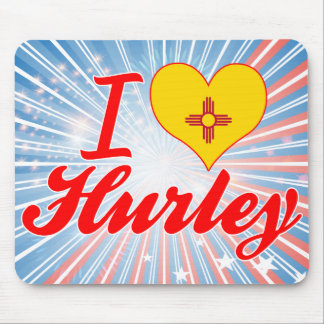 Amo Hurley New México Alfombrillas De Raton