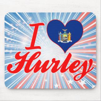 Amo Hurley Nueva York Tapetes De Raton