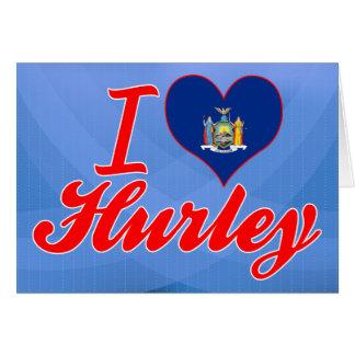 Amo Hurley, Nueva York Tarjeton
