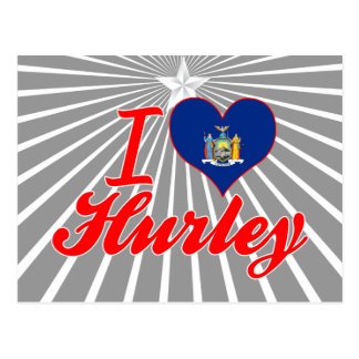 Amo Hurley, Nueva York Postal
