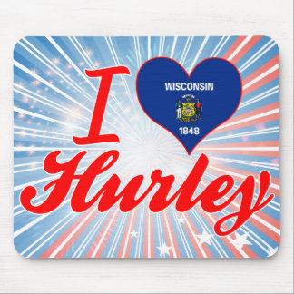 Amo Hurley Wisconsin Tapete De Ratón