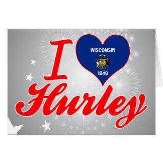 Amo Hurley, Wisconsin Tarjeton