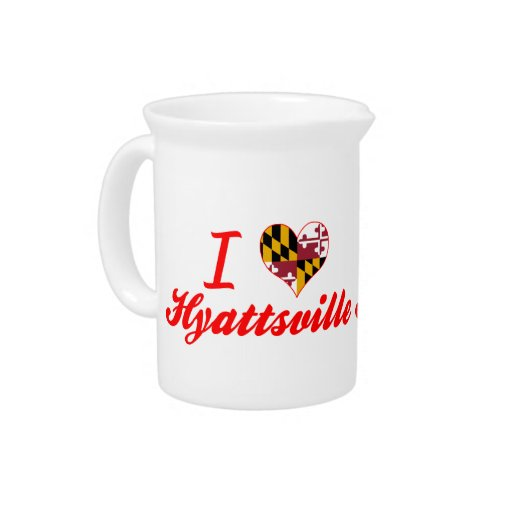 Amo Hyattsville, Maryland Jarras Para Bebida