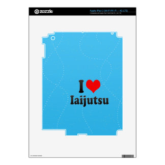 Amo Iaijutsu Pegatina Skin Para iPad 3