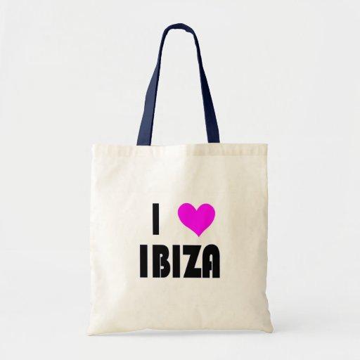 Amo Ibiza Bolsa Tela Barata