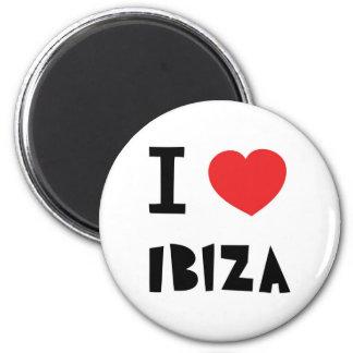 Amo Ibiza Imán Redondo 5 Cm