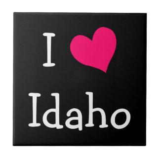 Amo Idaho Azulejo Cuadrado Pequeño