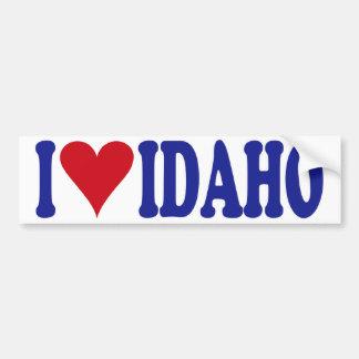 Amo Idaho Pegatina Para Auto