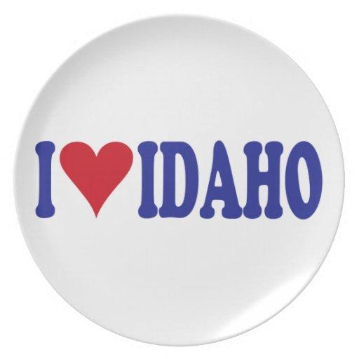 Amo Idaho Platos De Comidas