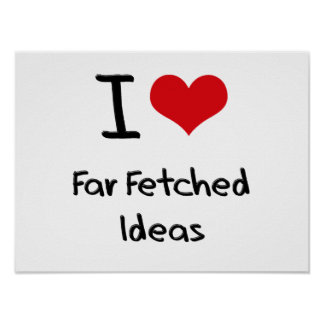 Amo ideas lejos traídas posters