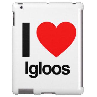 amo iglúes funda para iPad