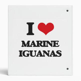 Amo iguanas marinas