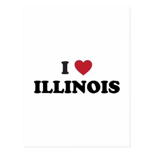 Amo Illinois Postales