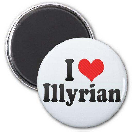 Amo Illyrian Imán Para Frigorifico