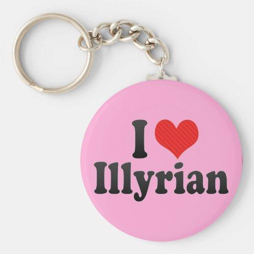 Amo Illyrian Llaveros