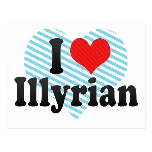 Amo Illyrian Tarjeta Postal