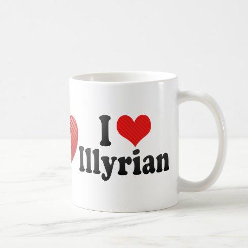 Amo Illyrian Tazas De Café