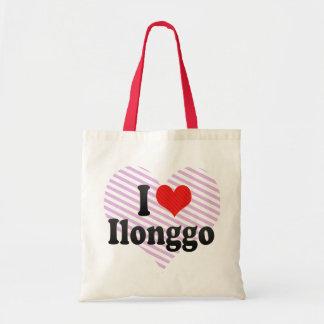 Amo Ilonggo Bolsa Lienzo