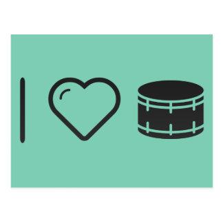 Amo imágenes del tambor postales