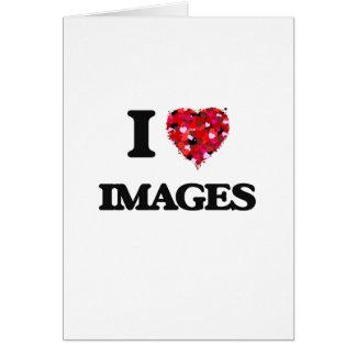 Amo imágenes tarjeta de felicitación