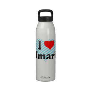 Amo Imari Japón Aisuru Imari Japón Botella De Agua Reutilizable