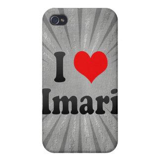 Amo Imari Japón Aisuru Imari Japón iPhone 4 Carcasa