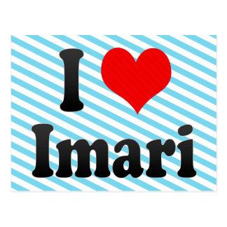 Amo Imari Japón Aisuru Imari Japón Postal