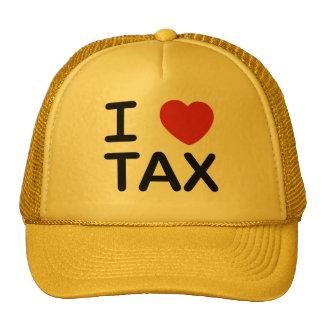Amo impuesto gorro