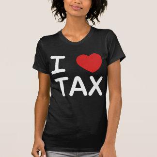 Amo impuesto camisetas