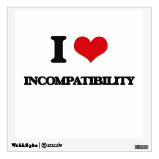 Amo incompatibilidad