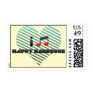 Amo incondicional feliz sellos