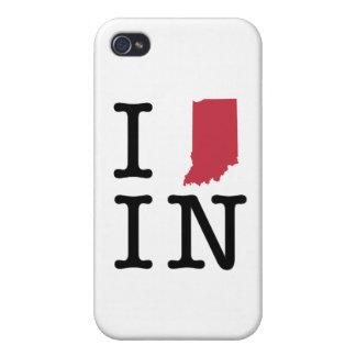 Amo Indiana iPhone 4/4S Carcasas