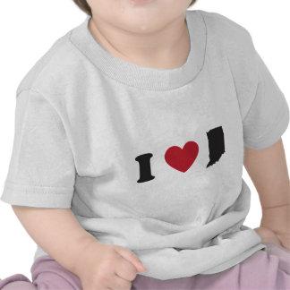 Amo Indiana Camiseta