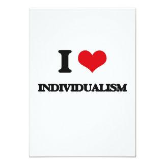 """Amo individualismo invitación 5"""" x 7"""""""