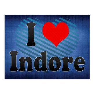 Amo Indore, la India Postales