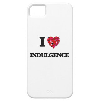 Amo indulgencia iPhone 5 carcasas