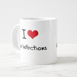 Amo infecciones del oído taza jumbo