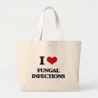 Amo infecciones por hongos bolsa lienzo