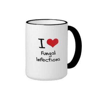 Amo infecciones por hongos taza de café