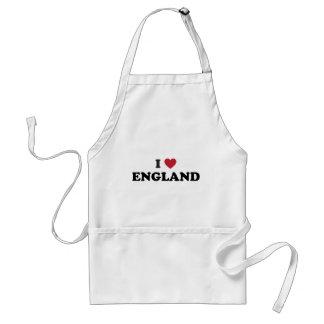 Amo Inglaterra Delantal