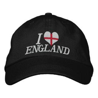 Amo Inglaterra Gorra De Béisbol