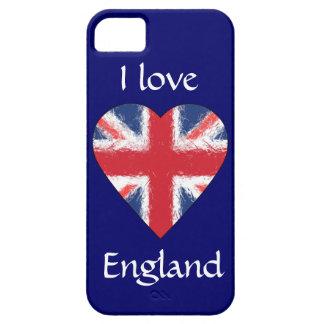 Amo Inglaterra iPhone 5 Carcasa