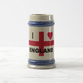 Amo Inglaterra Stein Taza